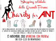 Charity for ANT: Shopping Solidale delle Grandi Firme  - Palazzo Borghese