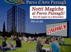 Cinema-Picnic sotto le stelle e visita guidata al Parco d'Arte Pazzagli