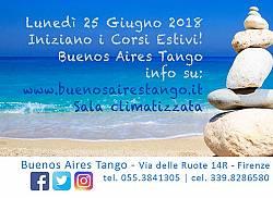 Buenos Aires Tango Corsi Estivi 2018