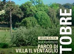 Alla scoperta del parco di Villa il Ventaglio per A.T.T.
