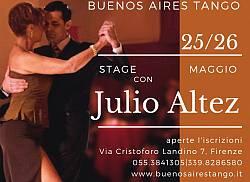 Stage di Tango con il Maestro Argentino Julio Altez