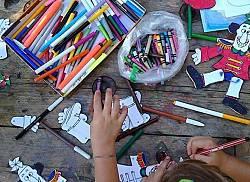 Laboratori per bambini e famiglie all'Orticultura