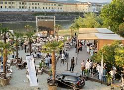 Europei 2021 al River Urban Beach