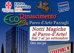 Cineforum e Picnic sotto le stelle al Parco d'arte Pazzagli