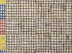 EVENTO SOSPESO McArthur Binion: Modern Ancient Brown