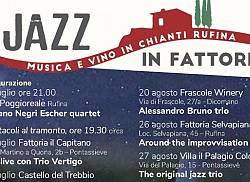 Jazz in Fattoria. Musica e vino in Chianti Rufina