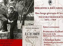 Mostra: Una lunga giornata di lavoro. Niccolò Rodolico 1873-1969