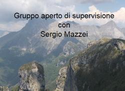 Gruppo aperto di supervisione con Sergio Mazzei