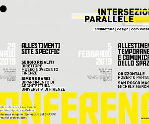 Evento Intersezioni parallele: conference  - Le Murate. Progetti Arte Contemporanea