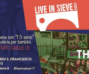 Evento LIVE in SIEVE '17 - The Etrurians/ Reggae//Funky//Night - Live in Sieve