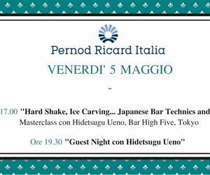 Evento Florence Cocktail Week - Hard Shake, Ice Carving - Hotel Four Seasons