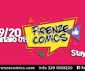 Evento Firenze Comics 2019, Fiera Internazionale Cosplay Fumetti e Games - Firenze Comics