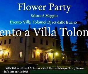 Evento Flower party - Villa Tolomei Hotel & Resort