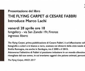 Evento Presentazione del libro The Flying Carpet - Fondazione Studio Marangoni