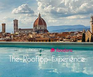 Evento The Rooftop Experience: Hoseki e Foodora food night - Plaza Hotel Lucchesi