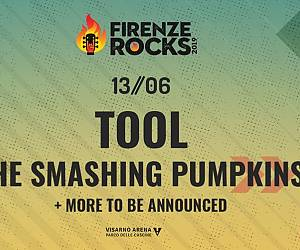 Evento Firenze Rocks 2019: The Smashing Pumpkins - Ippodromo del Visarno