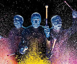 Evento Blue Man Group The Show - Nelson Mandela Forum