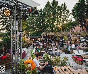 Evento HolyWood, Cinema all'aperto - Wood Music Garden