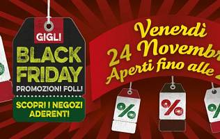 Black Friday ai Gigli - Centro Commerciale I Gigli