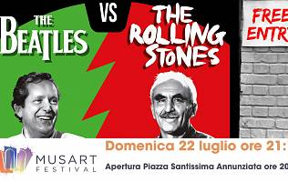 Lezioni di Rock: The Beatles vs The Rolling Stones - Piazza Santissima Annunziata