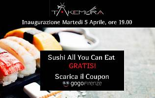 All you can eat GRATIS Takemura / Terminata -