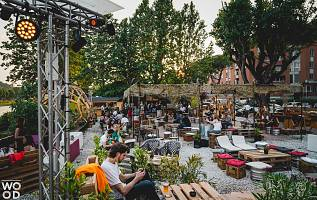 HolyWood, Cinema all'aperto - Wood Music Garden