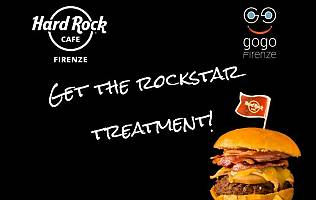 Special Card Hard Rock Cafe - GoGoFirenze / Terminata -