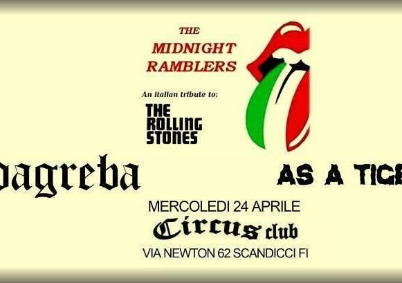 Evento The Midnight Ramblers - Circus Club