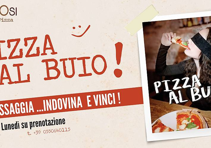 Evento Pizza al Buio!! - Simbiosi Organic Pizza