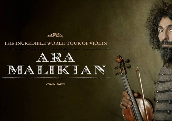 Evento Ara Malikian, The Incredible World Tour of Violin - Teatro Obihall