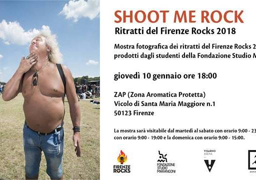Evento Shoot Me Rock - Zap