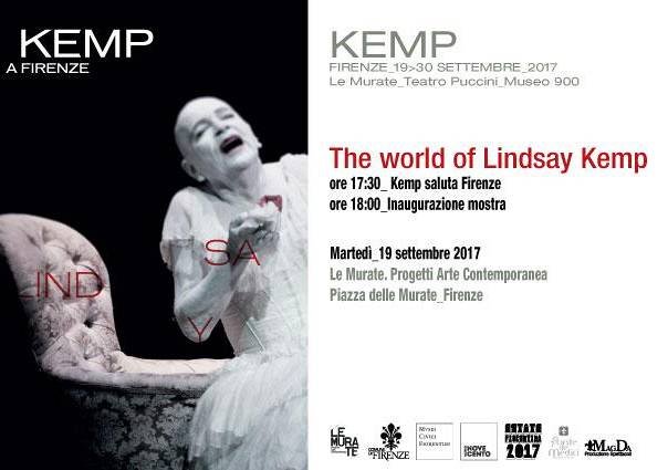 Evento The world of Linday Kemp - Le Murate. Progetti Arte Contemporanea