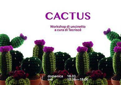 Evento Workshop di Amigurumi - Cactus - L'appartamento