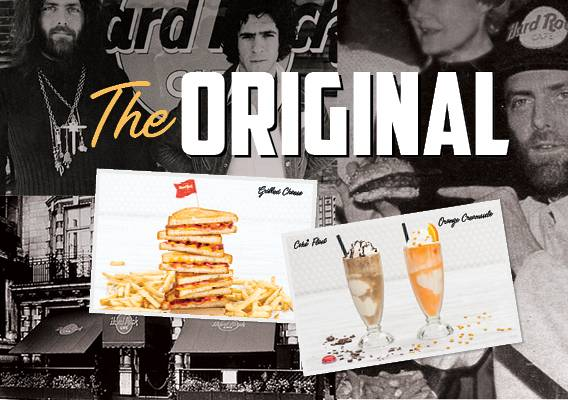 Evento The original Hard Rock Cafe menu: taste the classic! - Hard Rock Cafe