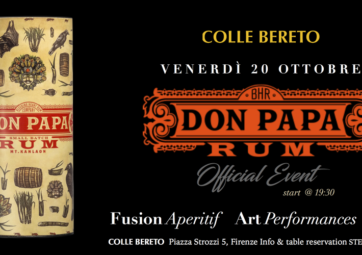 Evento Colle Bereto Don Papa Official Event - Colle Bereto