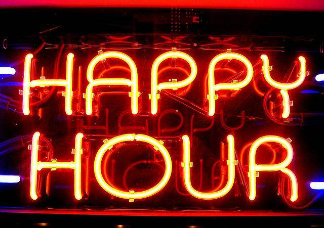 Evento Drink a metà prezzo durante l'happy hour? -
