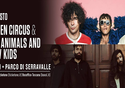 Evento Beat festival 2017: The Zen Circus & Fast Animals and Slow Kids - Parco di Serravalle