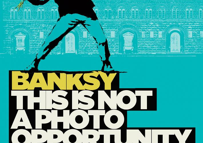 Evento Banksy a Firenze, la mostra: This is not a photo opportunity - Palazzo Medici Riccardi