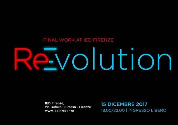 Evento ReEvolution at IED Firenze - IED - Istituto Europeo di Design
