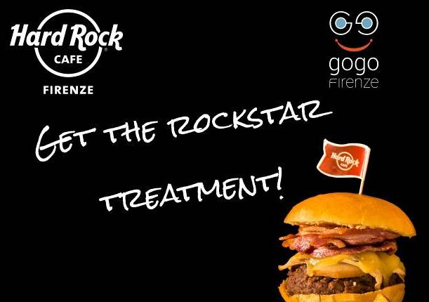 Evento Special Card Hard Rock Cafe - GoGoFirenze / Terminata -