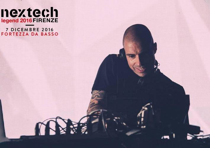 Evento Nextech Legend- Chris Liebing  - Fortezza da Basso