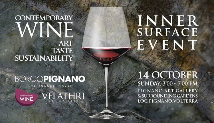 Evento Contemporary Wine: Inner Surface  Volterra