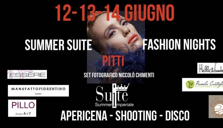 Evento Summer Suite Pitti Fashion Nights  Summer Suite