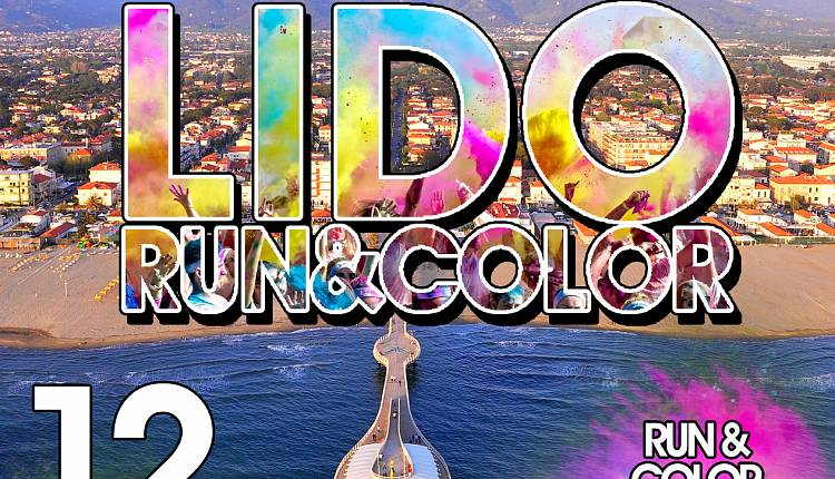 Evento Lido Run & Color  Camaiore