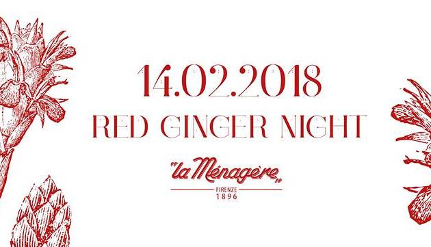 Evento Red Ginger Night - San Valentino La Ménagère