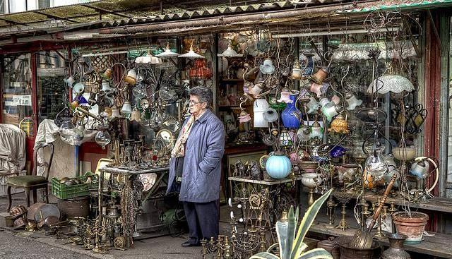 mercato delle pulci ciompi mensile antiquariato piazza