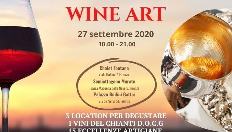 Evento Wine Art Firenze
