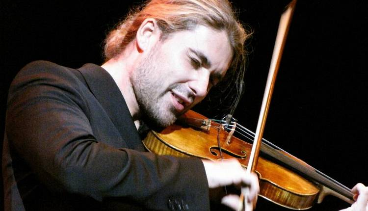 Evento David Garrett Nelson Mandela Forum
