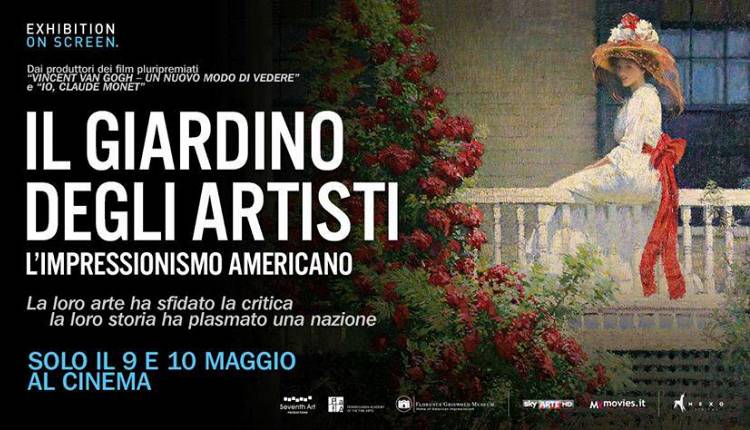 Il giardino degli artisti l 39 impressionismo americano odeon bistro eventi a firenze - Il giardino degli artisti ...