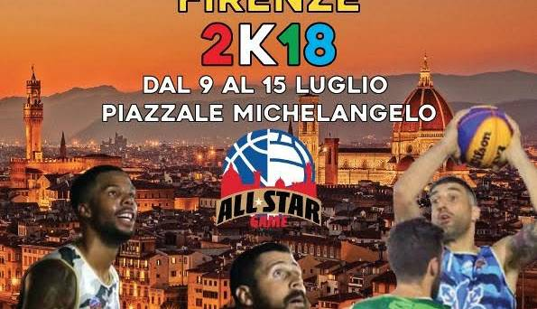 Evento All Star Game Firenze, Basket e Volley al Piazzale Piazzale Michelangelo